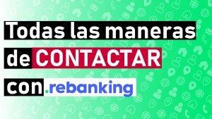 contacto, numero de telefono, contactar, email, correo, rebanking