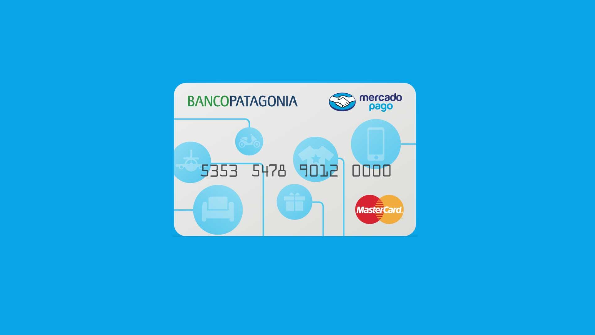 Tarjeta de credito mercado pago banco patagonia