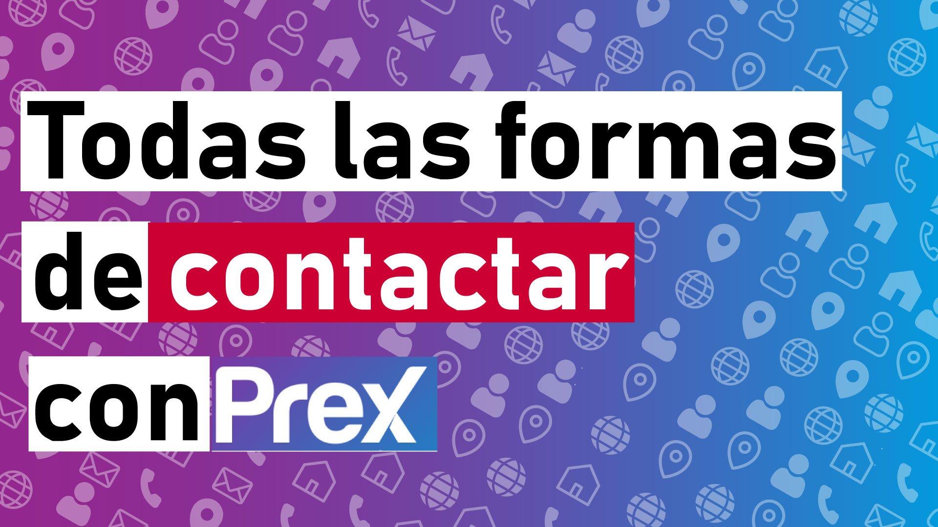 Contacto. contactar, numero telefonico, email, prex argentina,prex uruguay