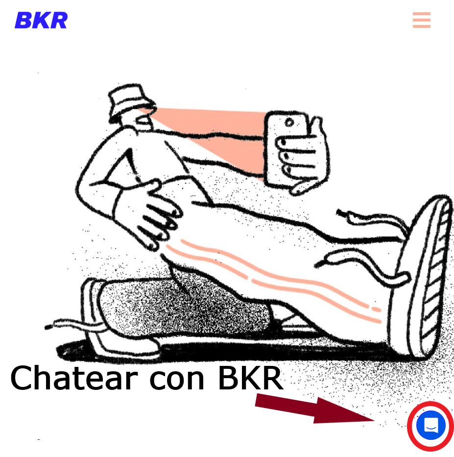 chatear con bkr