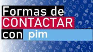 contactar a pim