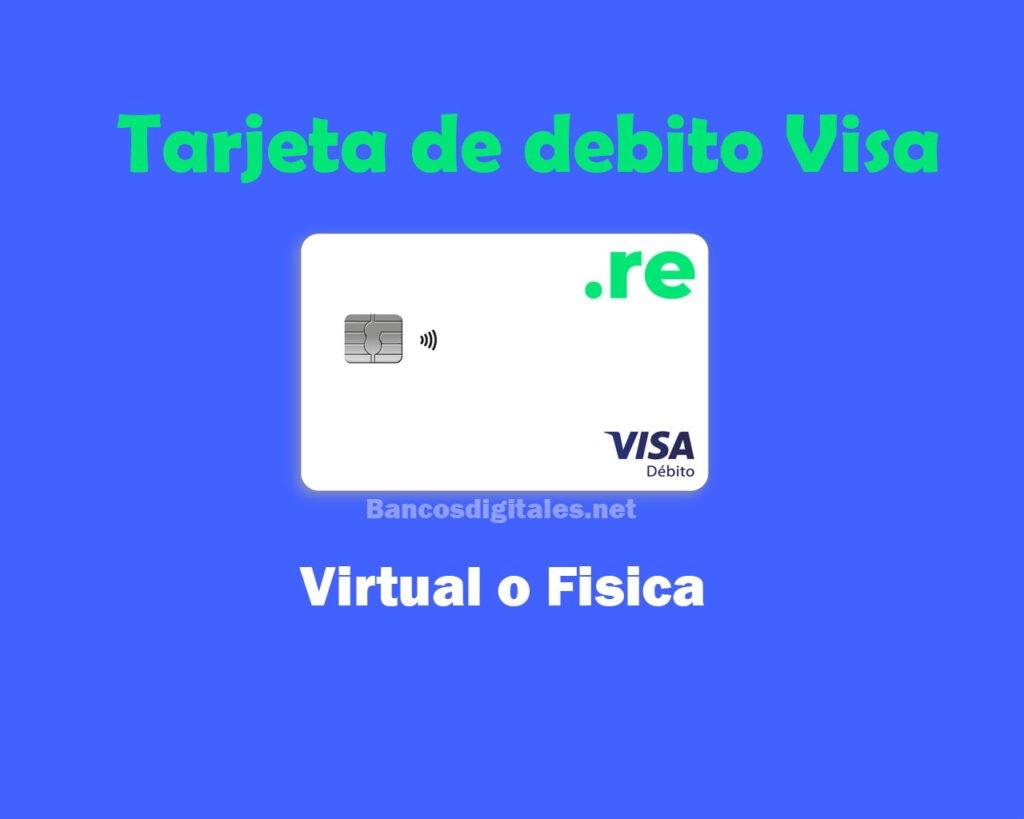 Tarjeta de debito visa reba rebanking